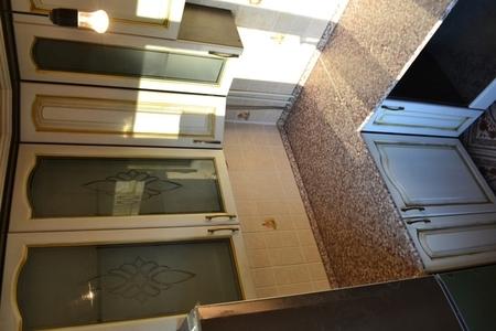 Кухня с фасадами Береста